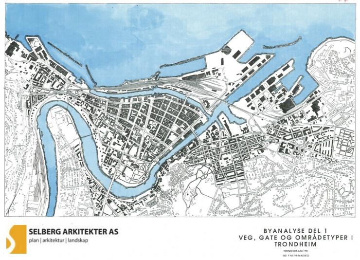 Gateanalyse fra Trondheim fra 1991